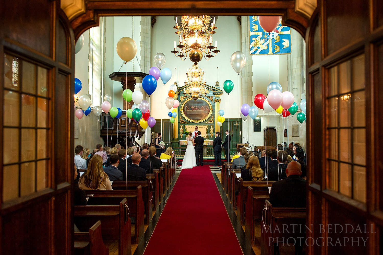 Swedish church wedding