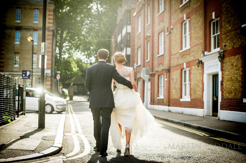 London wedding in the summer