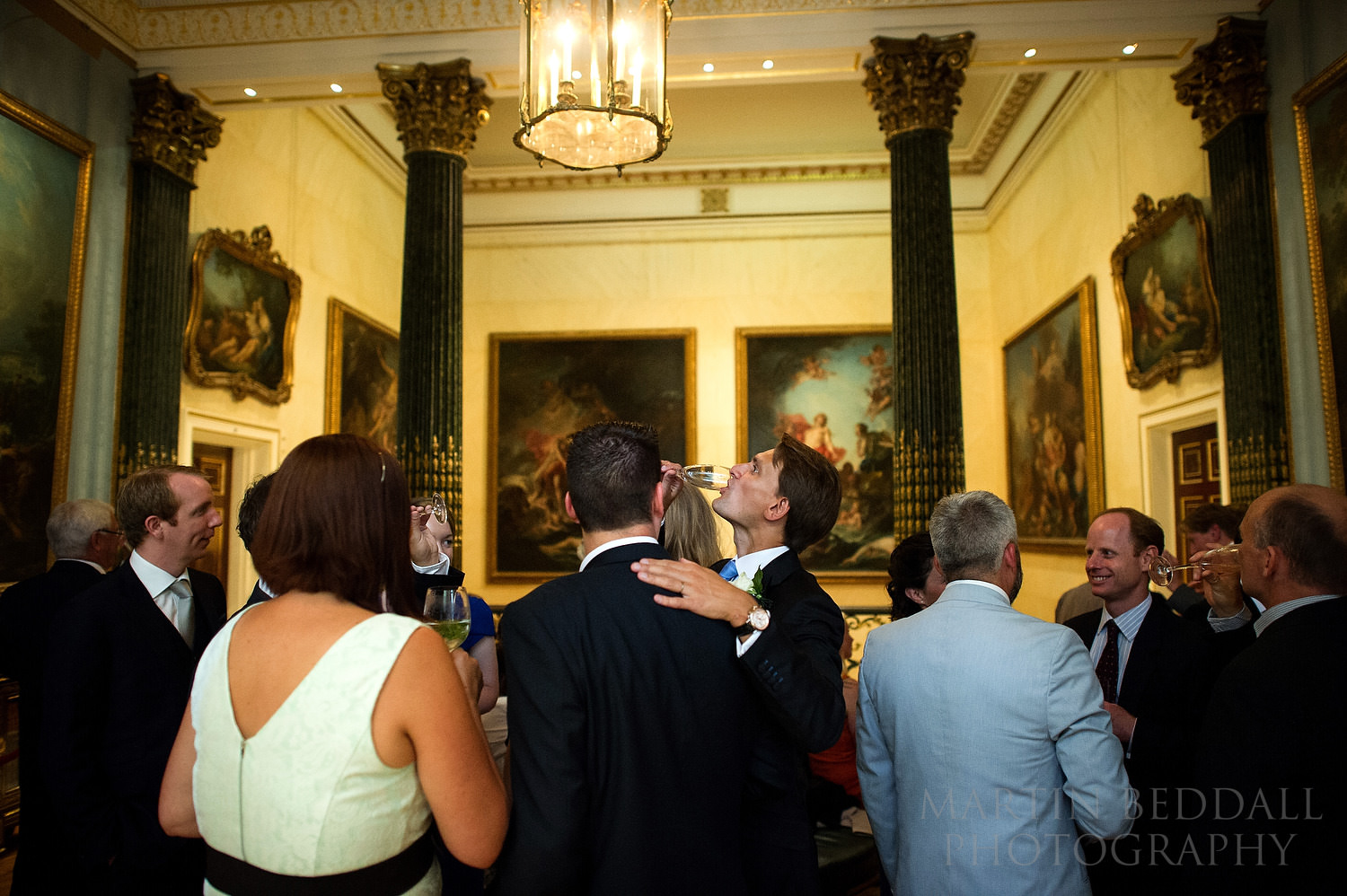 Wedding reception at The Wallace Collection in London
