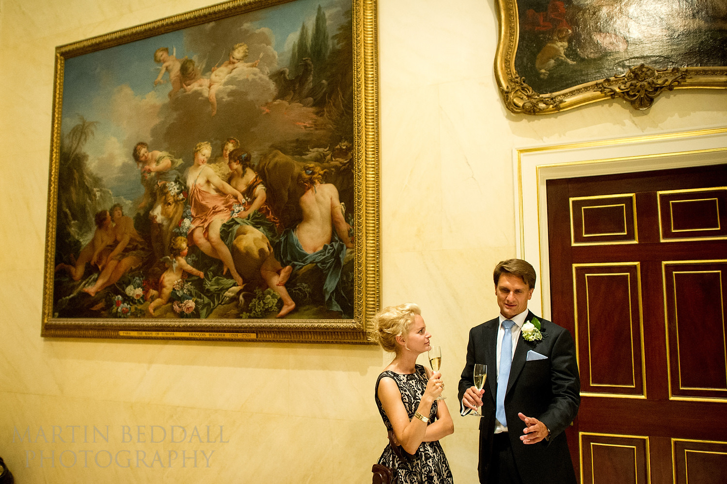 Wallace Collection wedding reception in London