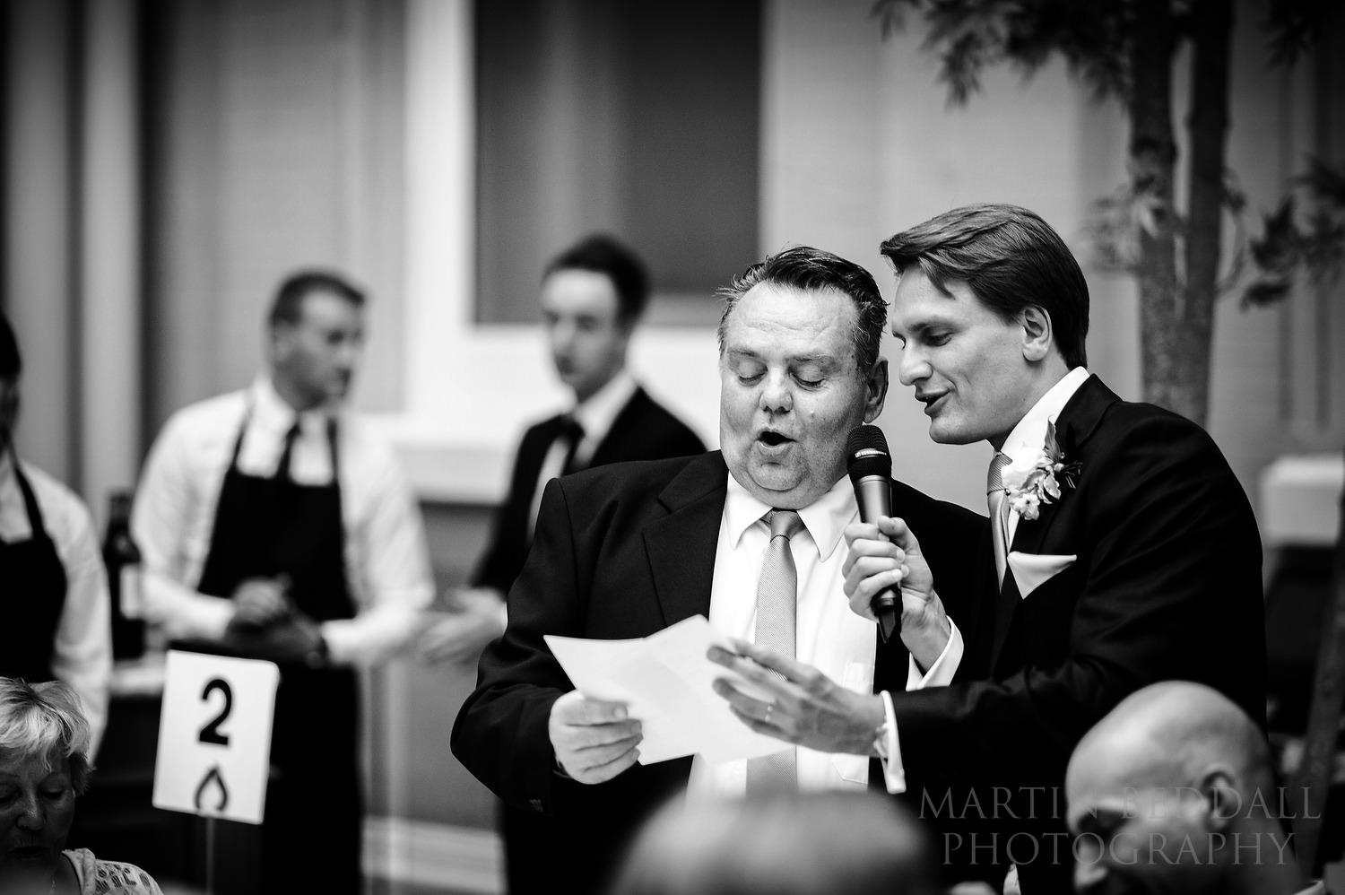 Singing at Wallace Collection wedding reception