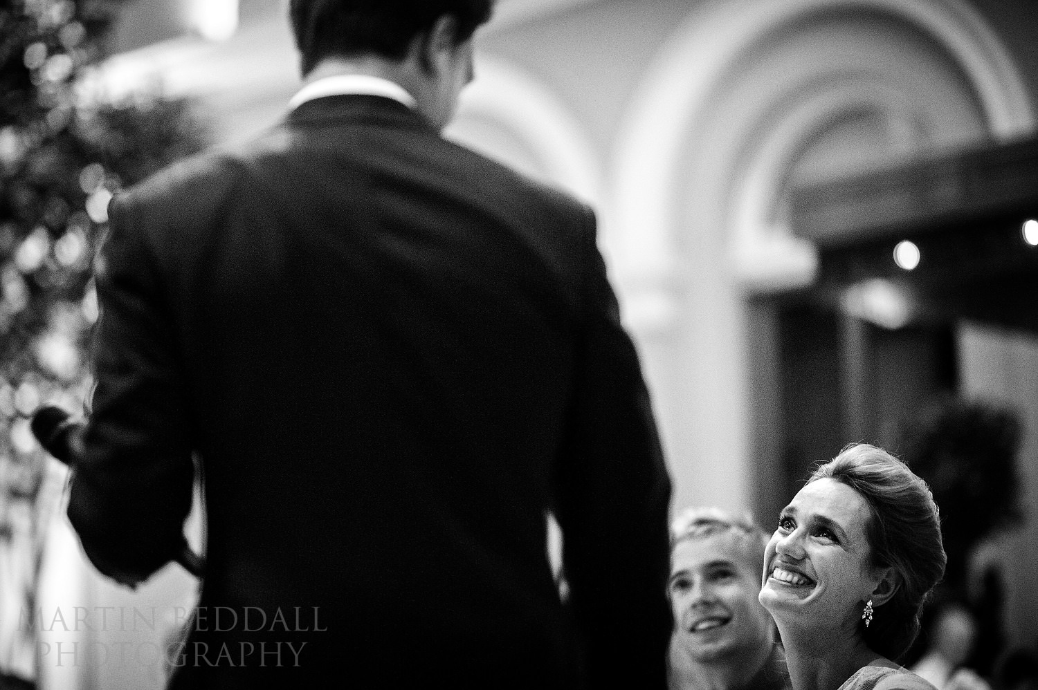 Groom's speech at Wallace Collection wedding reception