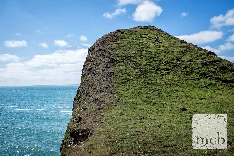 Devon clifftop