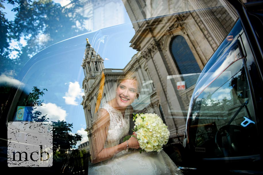 Colour version of a wedding images than won Professional Photographer of the Year for Martin Beddall