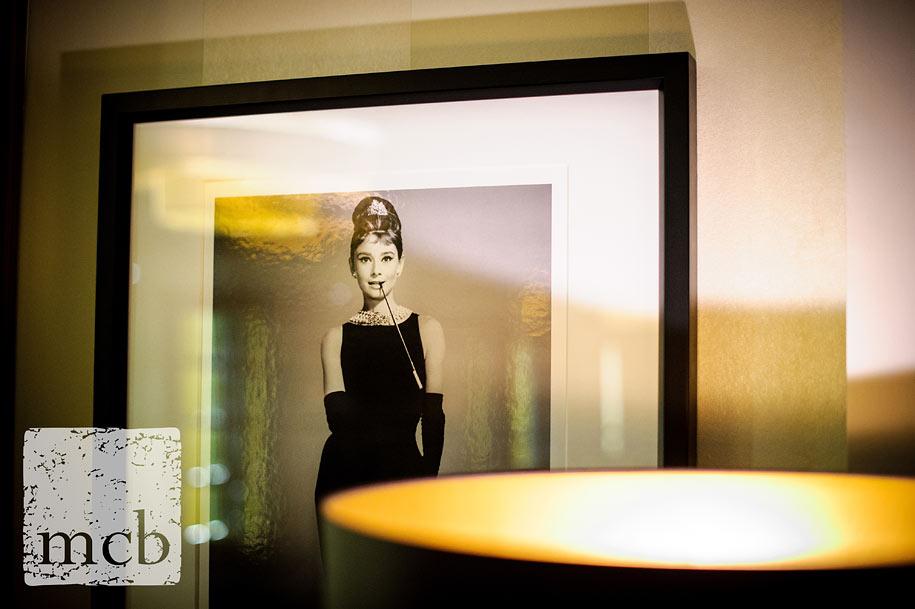 Photo of actress Audrey Hepburn