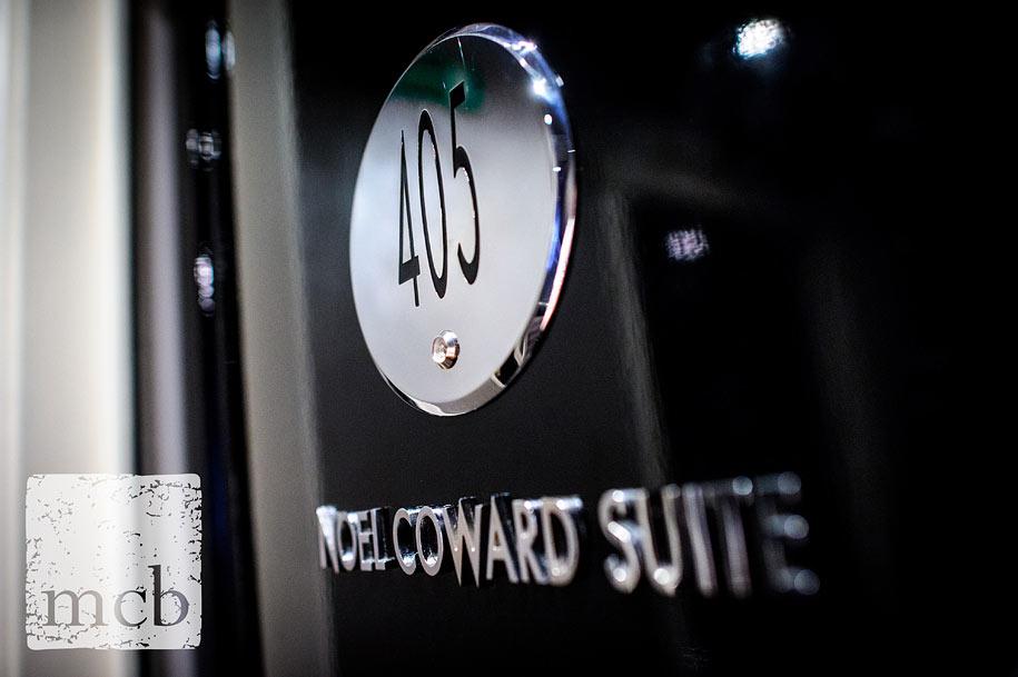 door to the Noel Coward suite