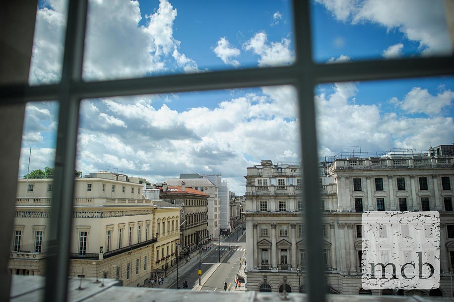 View along pall Mall from the sofitel hotel