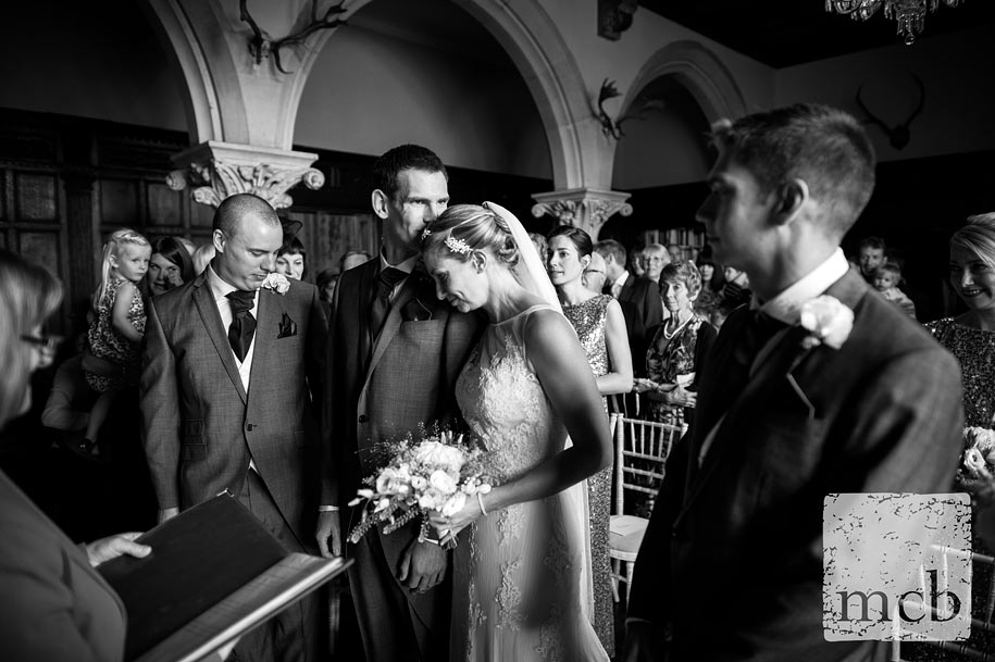 Huntsham Court wedding ceremony