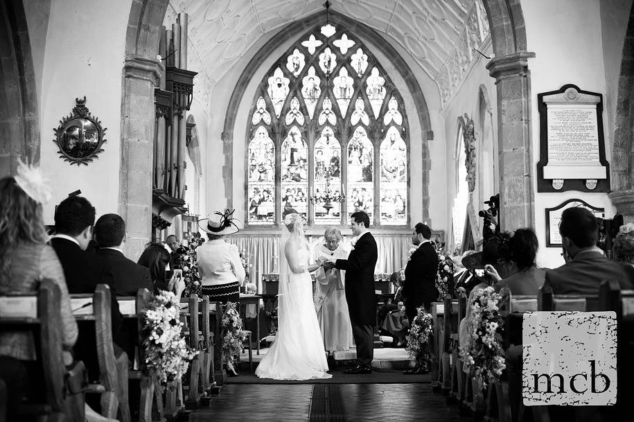 Buxted church wedding