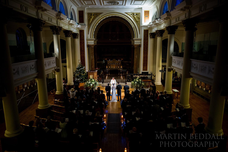 London winter wedding in Notting Hill