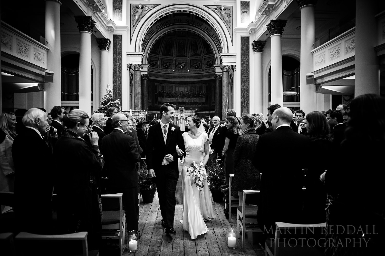 London winter wedding marriage