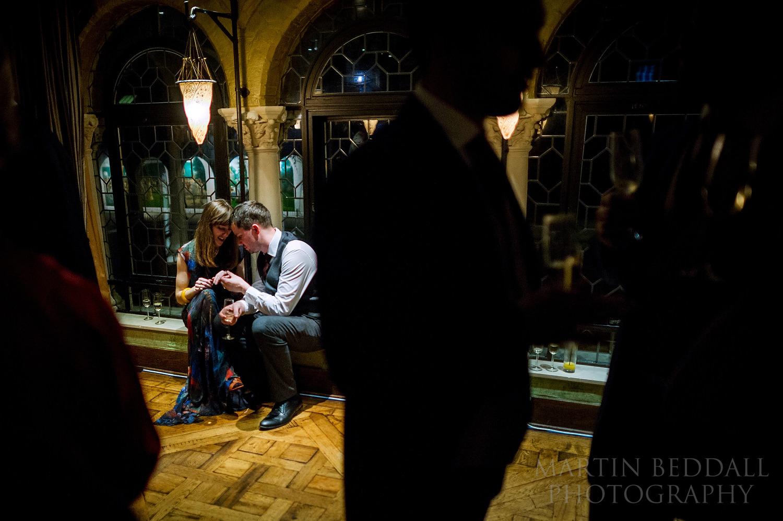 Belvedere restaurant wedding reception
