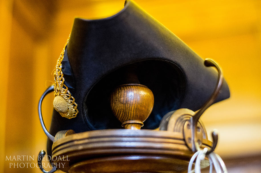 Mayor's hat in the Mayor's Parlour