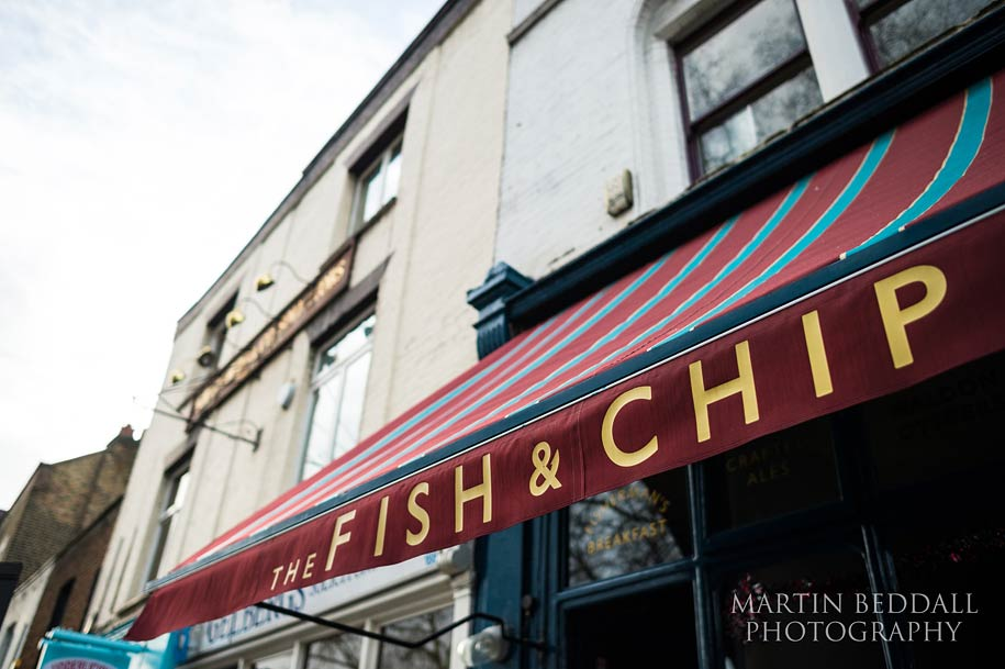 Fish & Chip Shop Islington