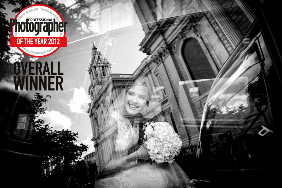 Wedding image that won the Photographer of the Year award fro Martin Beddall
