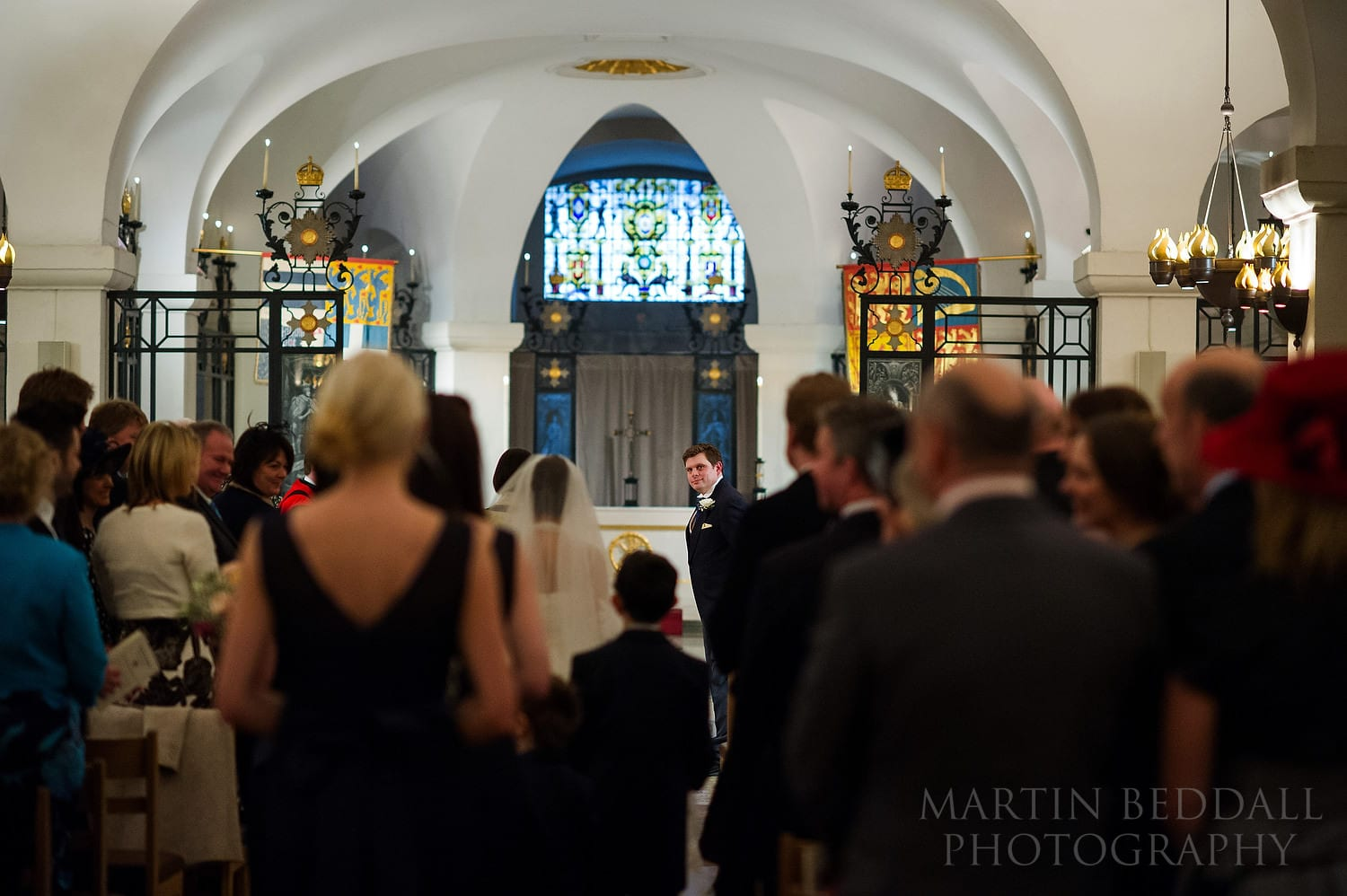 St Paul's Cathedral wedding ceremony
