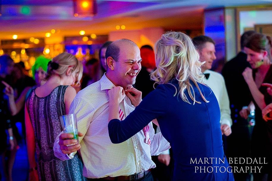 wedding dancing at The Ivy