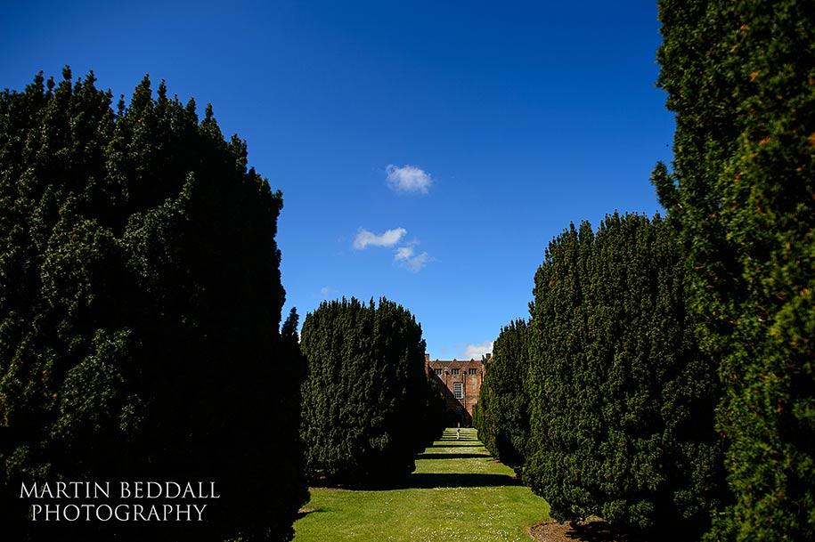 Glemham Hall a wedding venue in Suffolk