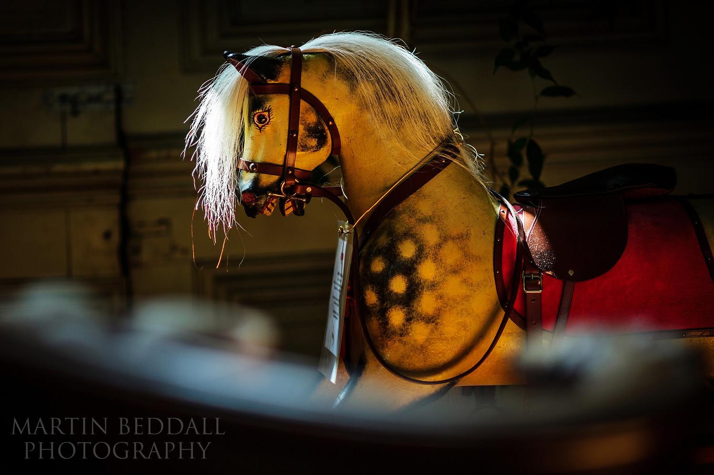 Rocking horse at Glemham Hall
