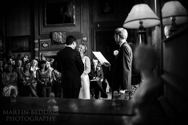 Glemham Hall wedding ceremony
