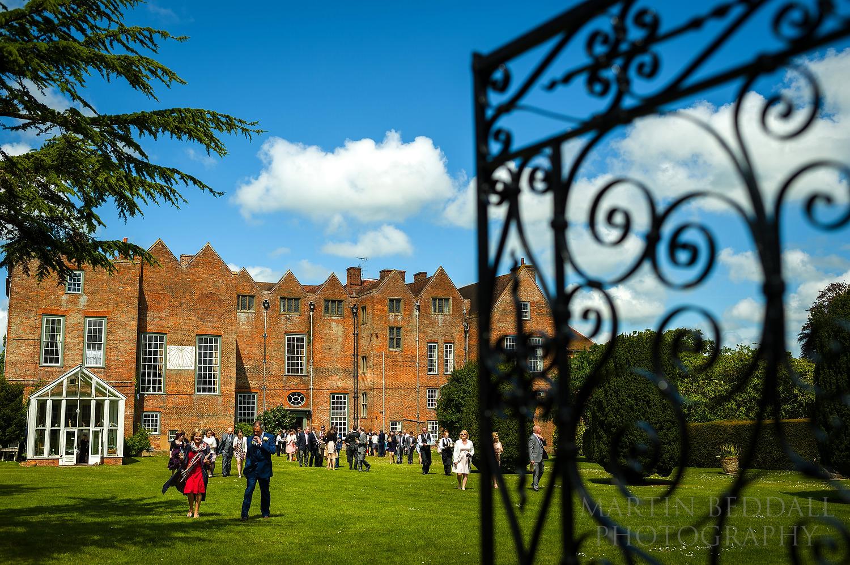 Glemham Hall wedding reception