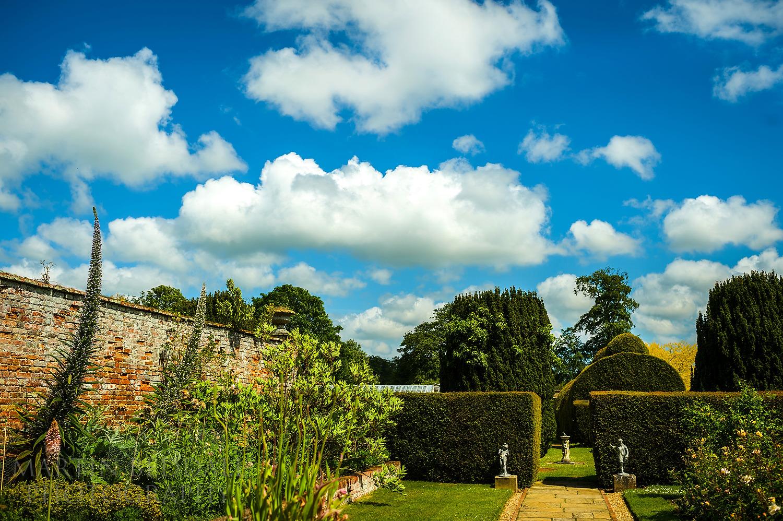 Glemham Hall gardens