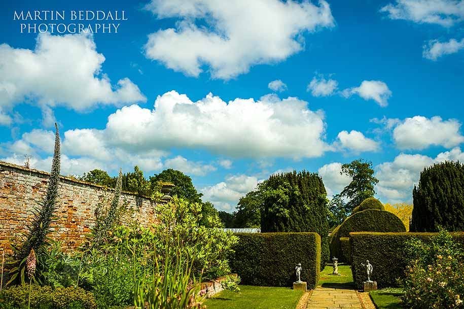 The gardens at Glemham Hall