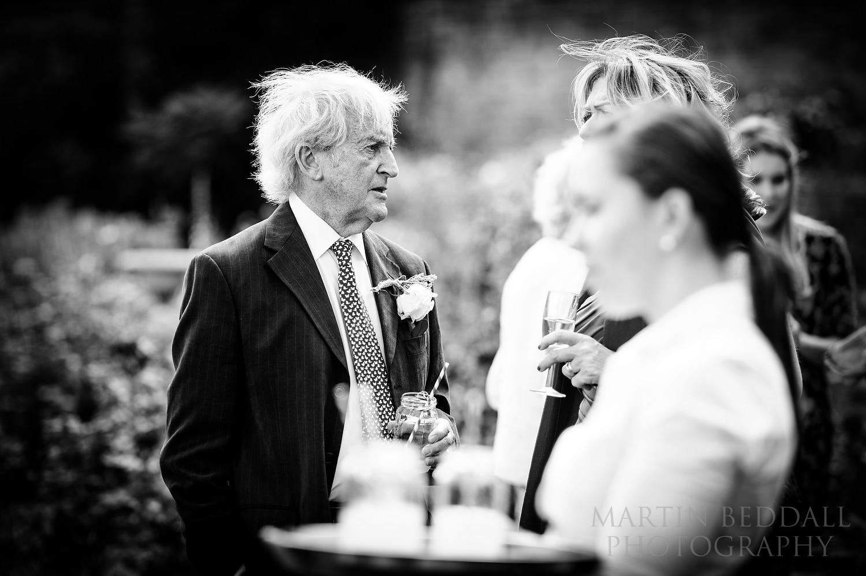 Glemham Hall wedding guests