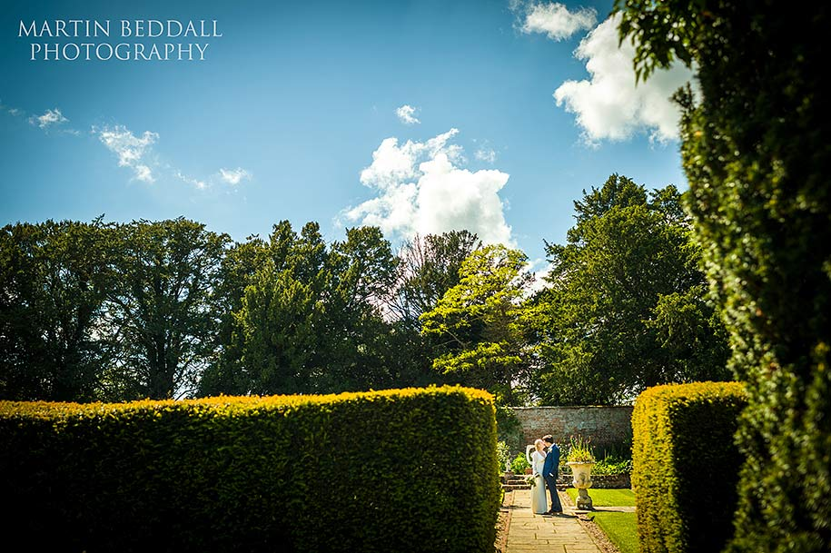 Wedding photography at Glemham Hall
