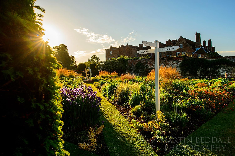 Glemham Hall garden