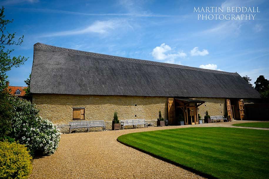 Tythe barn wedding venue near Bicester