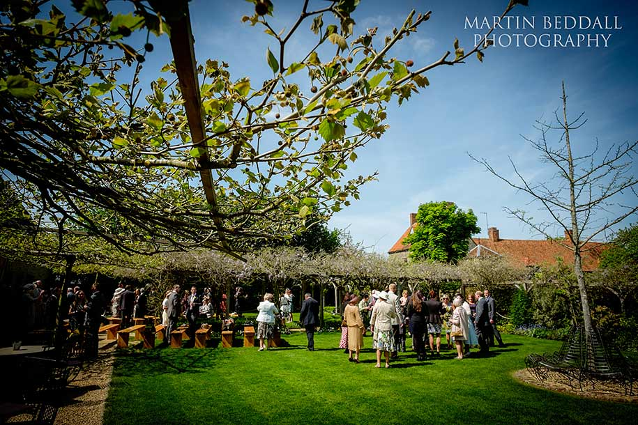 Wedding reception at the Tythe Barn near Bicester