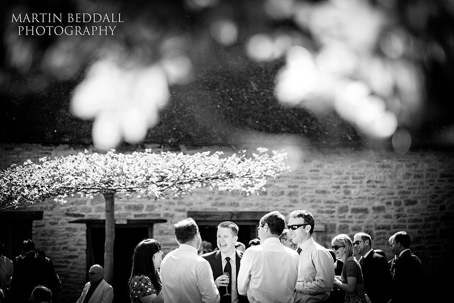 Summer wedding at the Tythe Barn