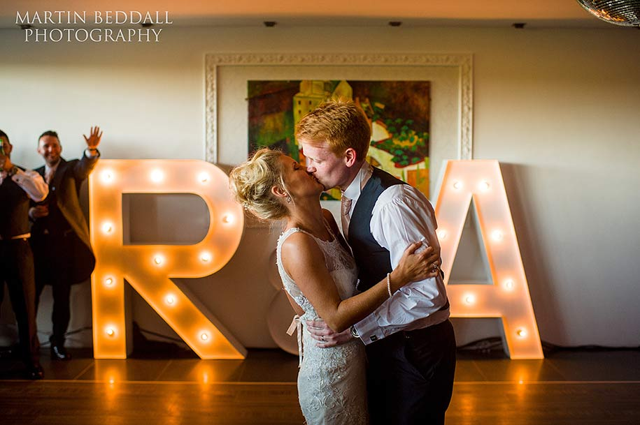 First dance at Russets