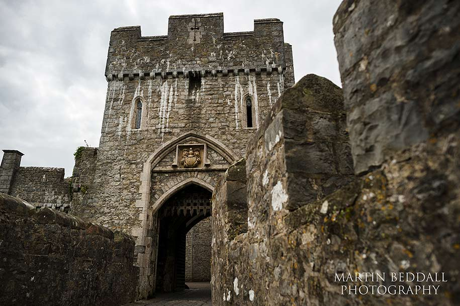 St Donat's castle a wedding venue in Wales