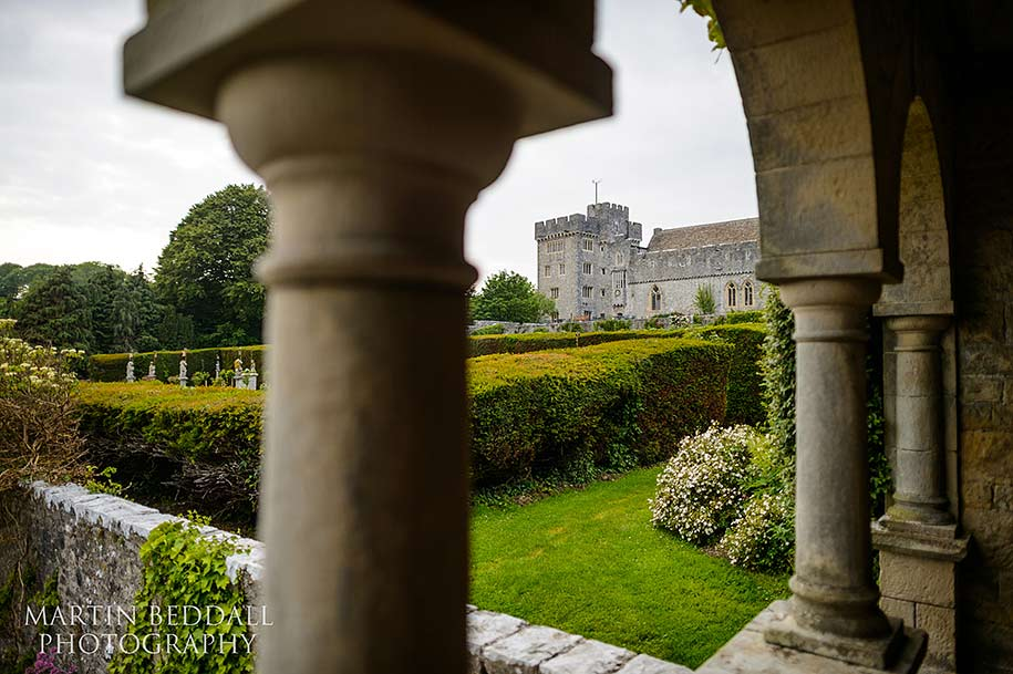 wedding venue St Donat's castle in South Wales