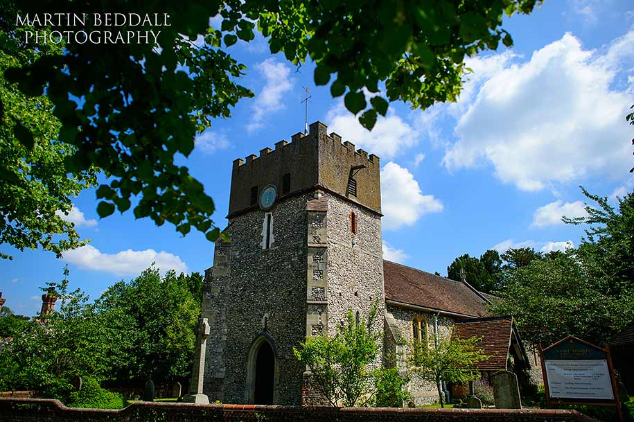 St Martin's church in East Horsley in Surrey
