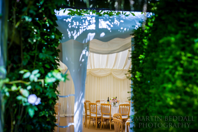 Surrey garden wedding