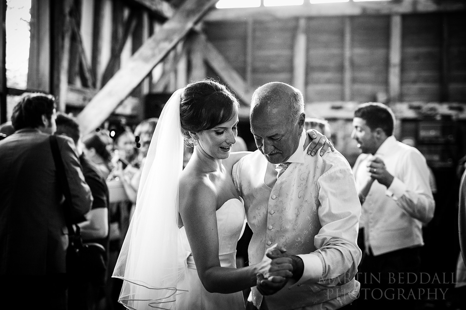 Bride dances with her father