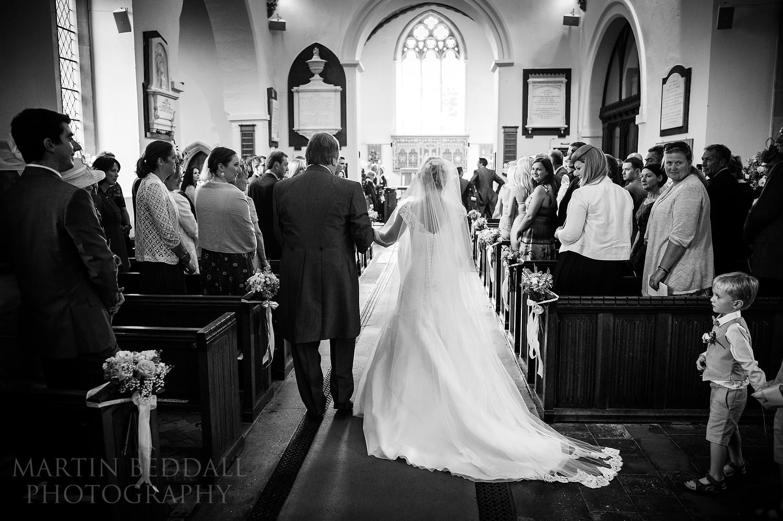 Start of the wedding ceremony