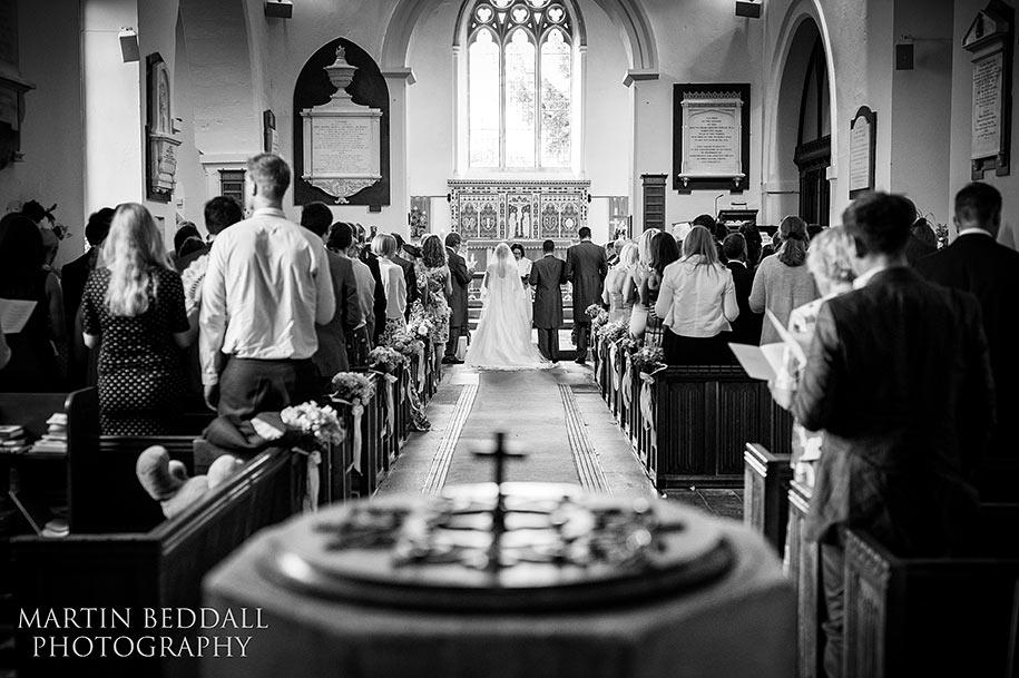Berkshire wedding ceremony