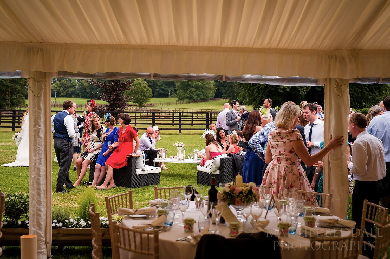 Berkshire wedding reception
