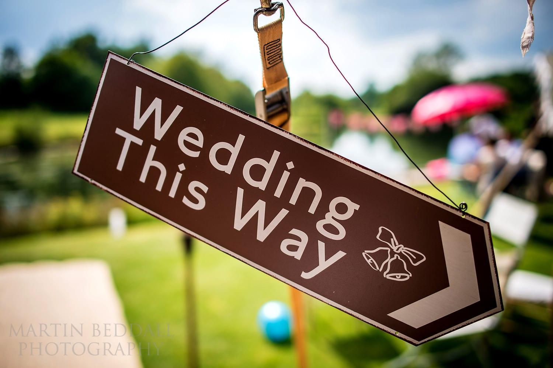 Duncton Mill wedding
