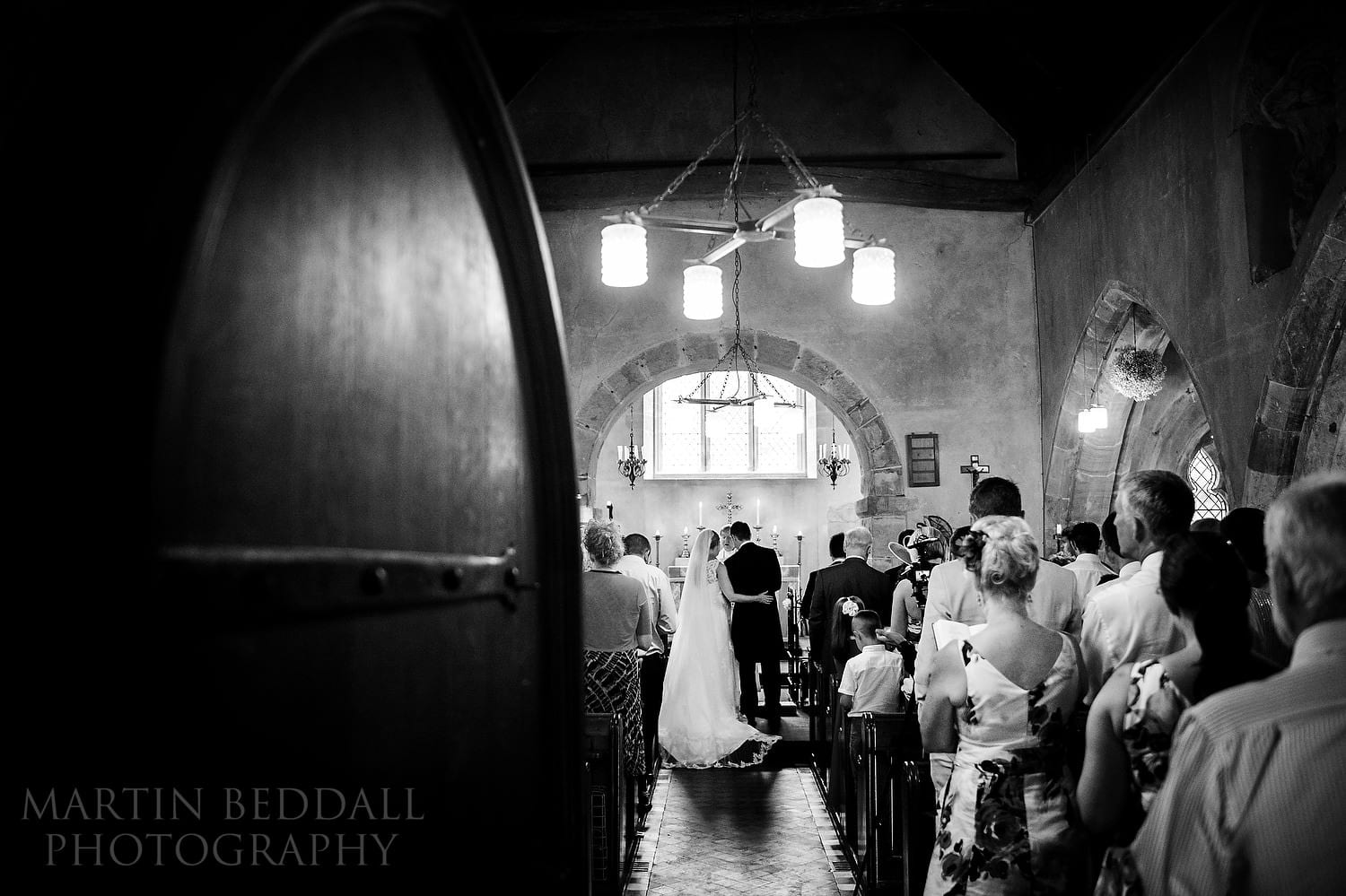 St Catherine of Siena church wedding in Cocking, Sussex