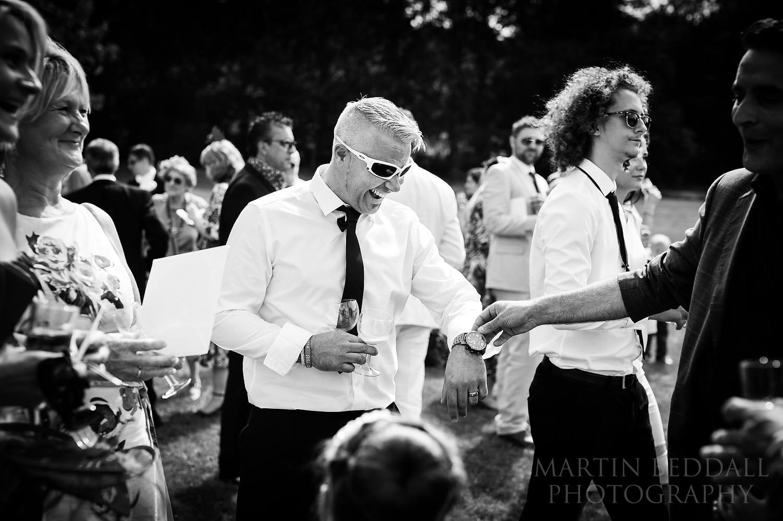 Magician at Duncton Mill wedding