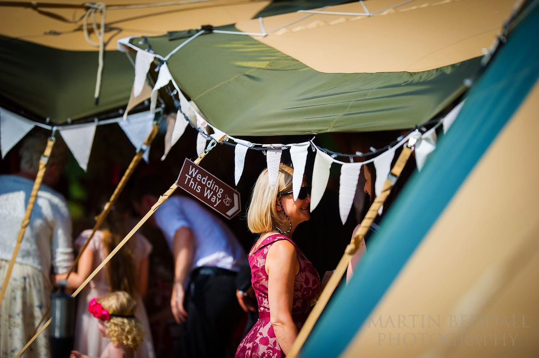 Duncton Mill wedding reception