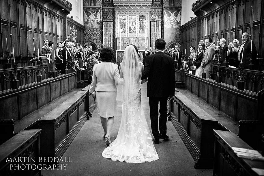 Queens' College wedding