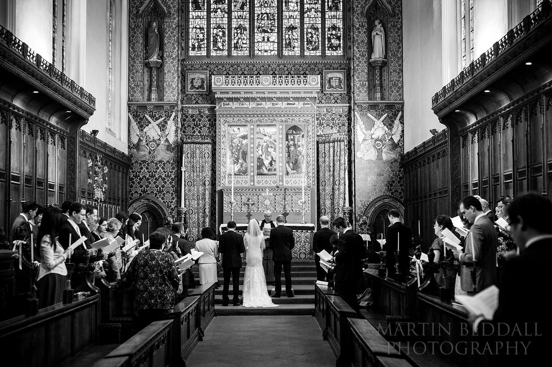 Queens' College wedding