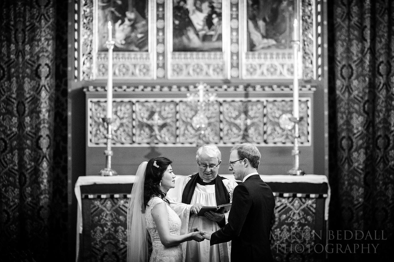 Queens' College wedding vows