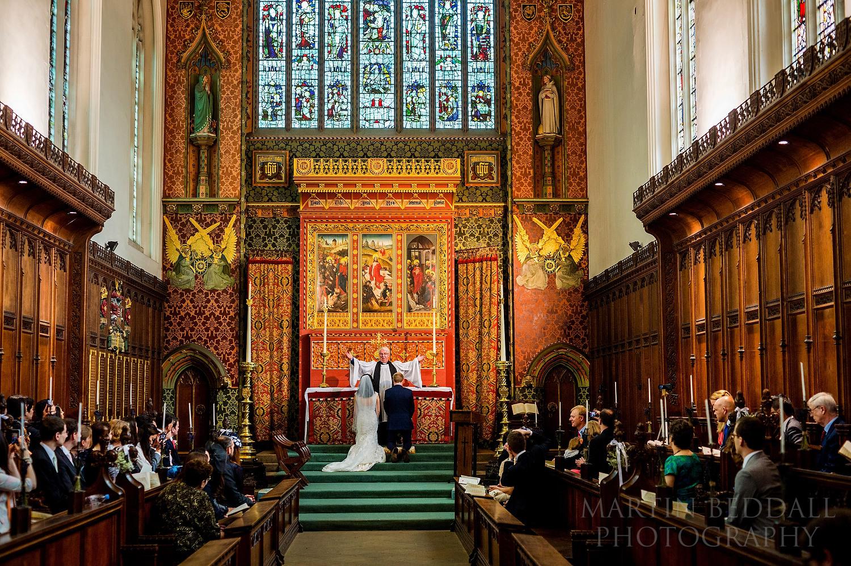 Queens' College wedding ceremony